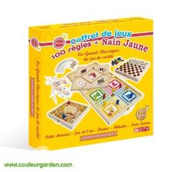 Coffret de 100 règles de jeux + nain jaune