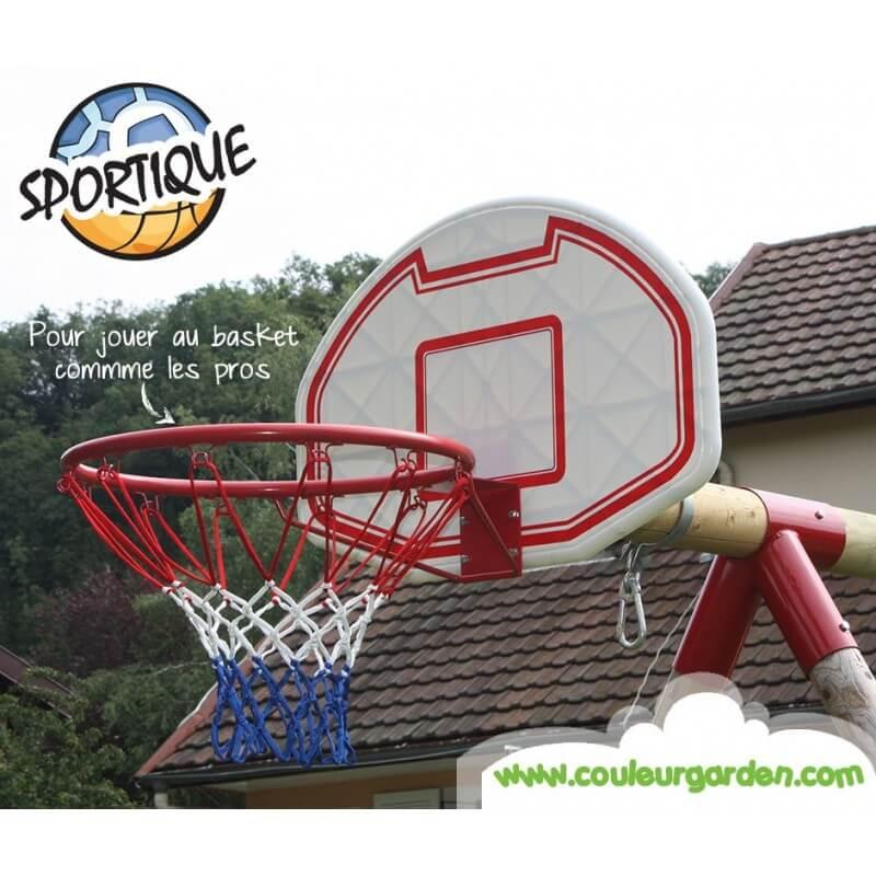 Agrès panier de basket universel