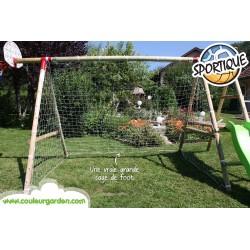 Agrès cage de foot universelle