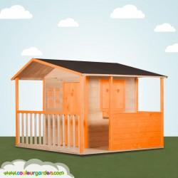 Maison cottage avec terrasse et plancher
