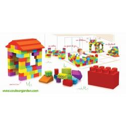 Pack XXXL : 2 boîtes de 121 briques géantes soit 242 briques