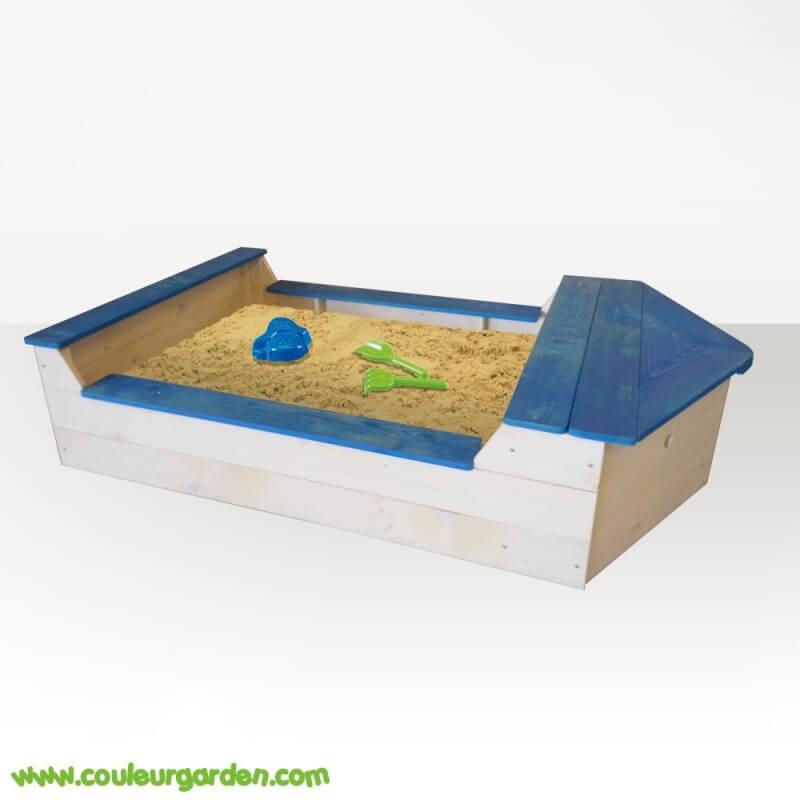 """Bac à sable """"bateau"""""""