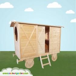Roulotte enfant en bois Express