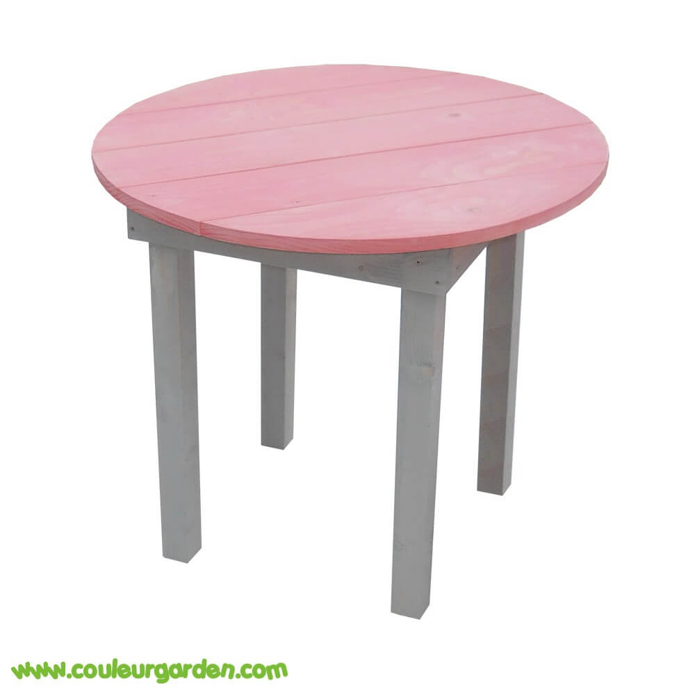 table de jardin en bois pour enfant. Black Bedroom Furniture Sets. Home Design Ideas