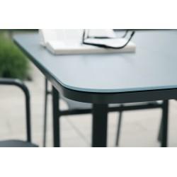 Table Milos gris 6/8 pers