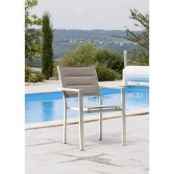 Fauteuil Ibiza Classic ivoire