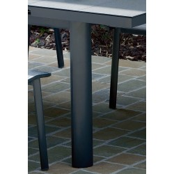 Table Ouessant gris 8/10 pers
