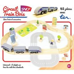 Circuit de train 45 pièces SNCF