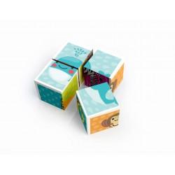 Puzzle cube 4 pieces