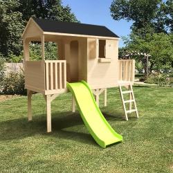 grande cabane enfant patio sur pilotis de 1m20