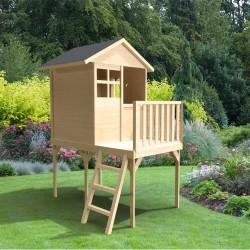 Maison de jardin enfant sur pilotis 59 cms