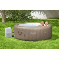 Spa gonflable Lay-Z-Spa® Palm Springs, 4/6 places, diamètre 196 x 71 cm COULEUR GARDEN
