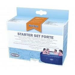 Starter Set pour spa, kit de traitement de l'eau 6 composants COULEUR GARDEN
