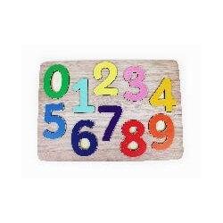Puzzle encastrable chiffres