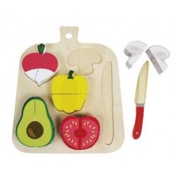 Planche à découper légumes