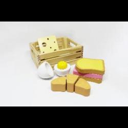 Cagette du boulanger - Petit déjeuner à découper