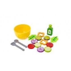 Saladier avec légumes