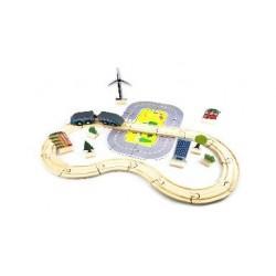 Circuit de train 40 pièces
