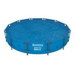 Bâche solaire diamètre 356 cm piscine hors sol ronde diamètre 366 cm