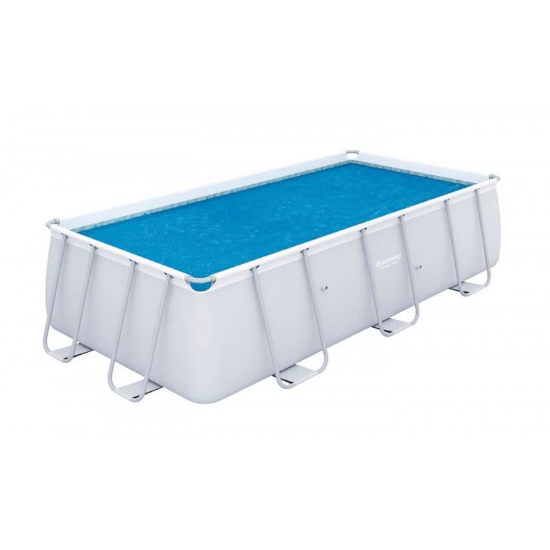 Bâche solaire 524 x 250 cm pour piscine hors sol rectangulaire Power Steel™ 549 x 274 x 122 cm