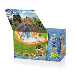 Aire de jeux avec soufflerie en continu Hurricane Tunnel Blast 420 x 320 x 260 cm COULEUR GARDEN