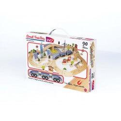 Circuit de train 90 pièces SNCF