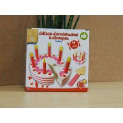 Gâteau d'anniversaire à découper