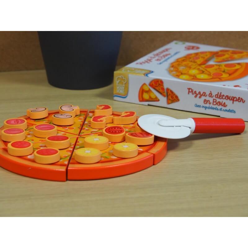 Pizza à découper