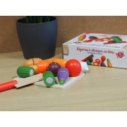 Set légumes et planche à...