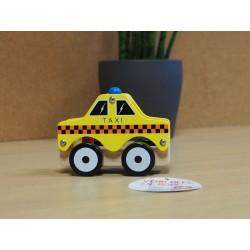 Assortiment de 4 véhicules : pompier, taxi, police et ambulance