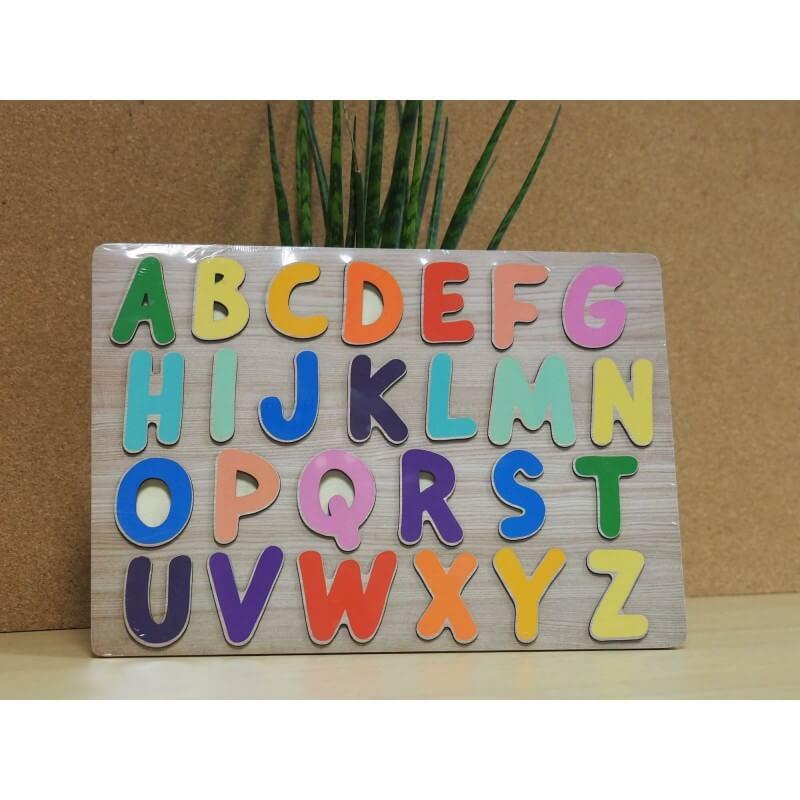Puzzle encastrable lettres
