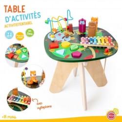 Table d'activités