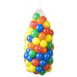 100 balles colorées de piscine