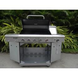 Barbecue DE LUXE 5 Brûleurs (1 phz)