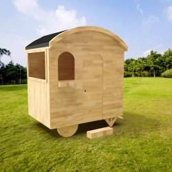 Cabane Caravane en bois pour enfant - Cabane enfant