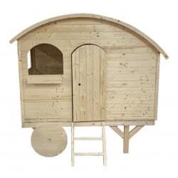 Cabane Caravane en bois...