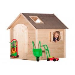 Grande maison de jardin enfant avec fenêtres - Cabane enfant
