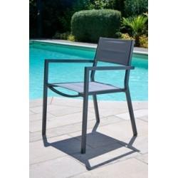 Fauteuil Ibiza Design gris