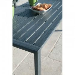 PACK SANTORIN : Ensemble repas 8 personnes - fauteuils + table