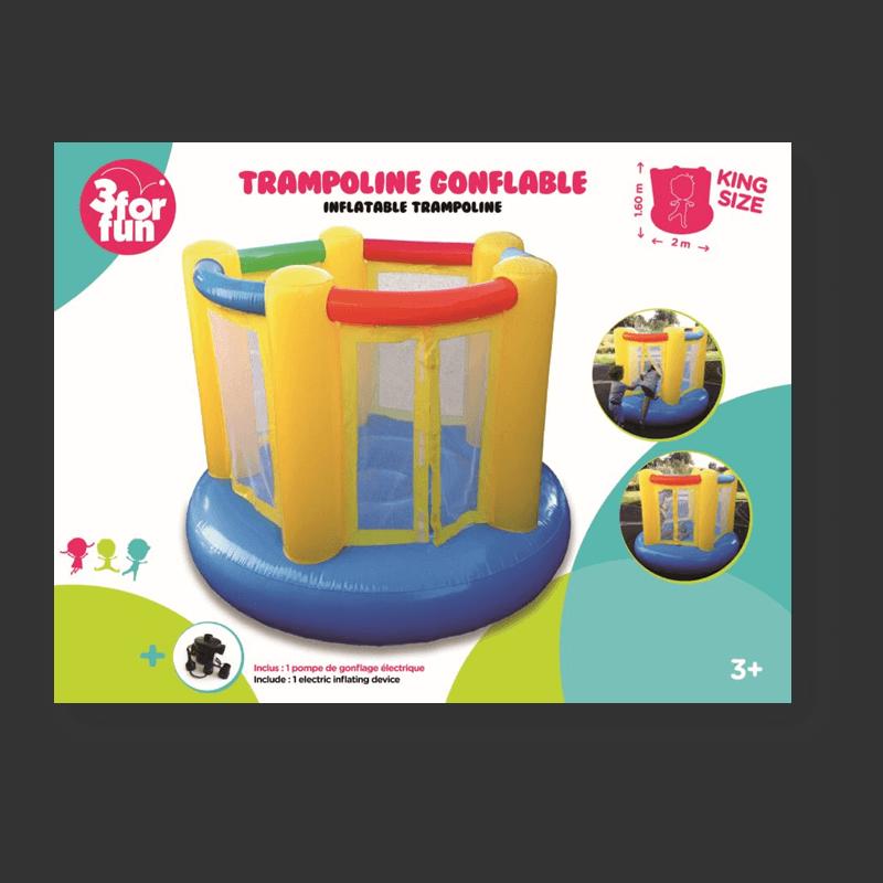 Trampoline gonflable
