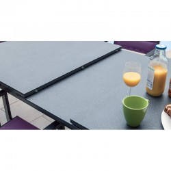 PACK IBIZA TON PIERRE : Ensemble repas 8 personnes - fauteuils + table