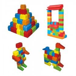 Boite de 40 briques géantes en plastique