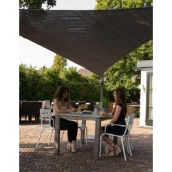 Voile d'ombrage triangle 3,6 x 3,6 x 3,6m