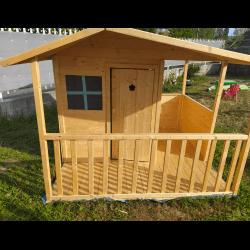 Maison enfant cottage avec terrasse - Cabane enfant