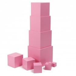 La Tour rose - Jeux Montessori
