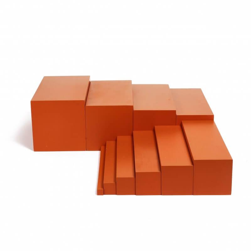 L'escalier marron - Jeux Montessori