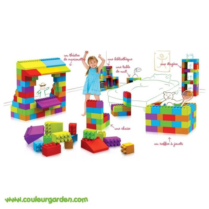 Pack 121 briques géantes