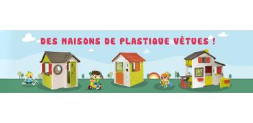 Maison enfant plastique couleur garden - Maison enfant plastique ...