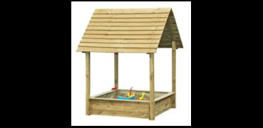 Bacs à sable avec toiture
