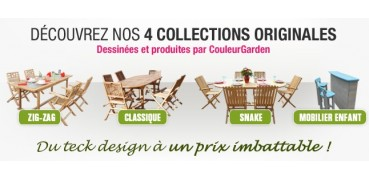 Mobilier en teck par collection